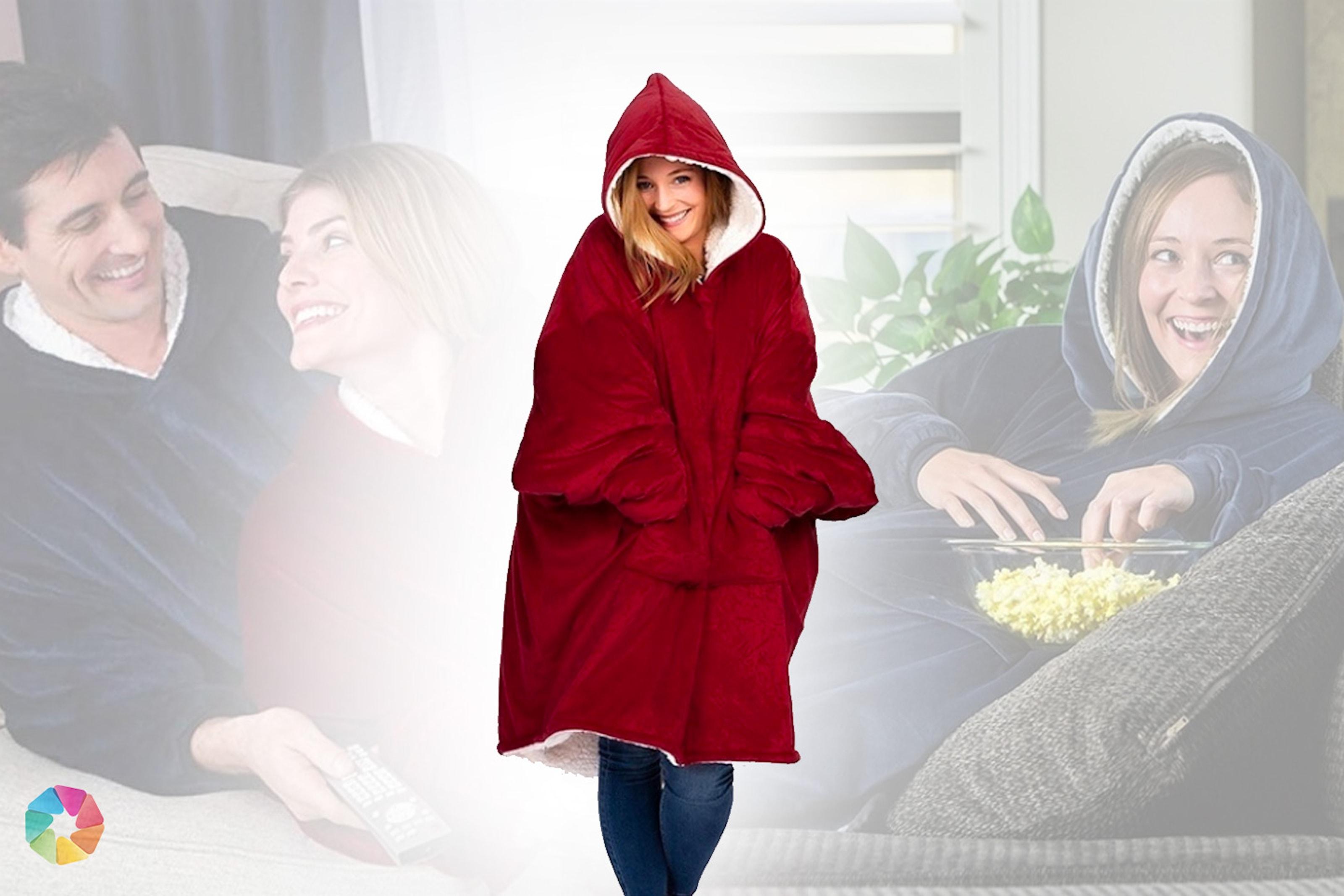 Varm och skön oversize-tröja