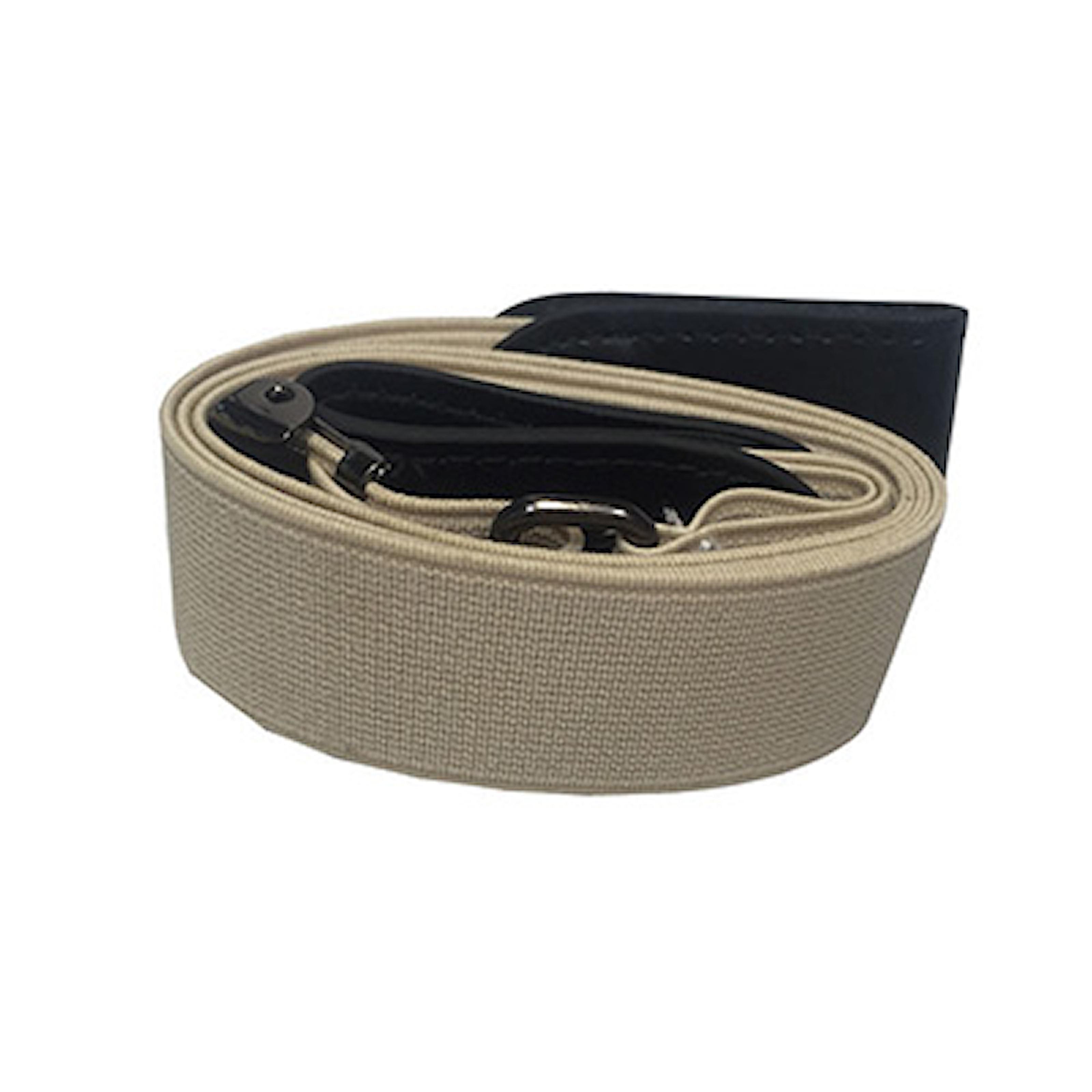 Khaki, 80-100cm, Buckle Free Unisex Elastic Belt, Elastiskt skärp utan spänne, ,