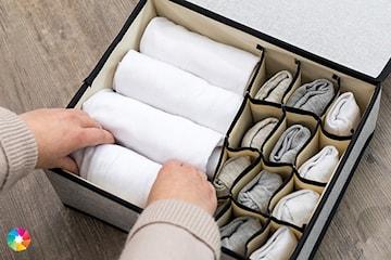 Förvaringslåda för underkläder