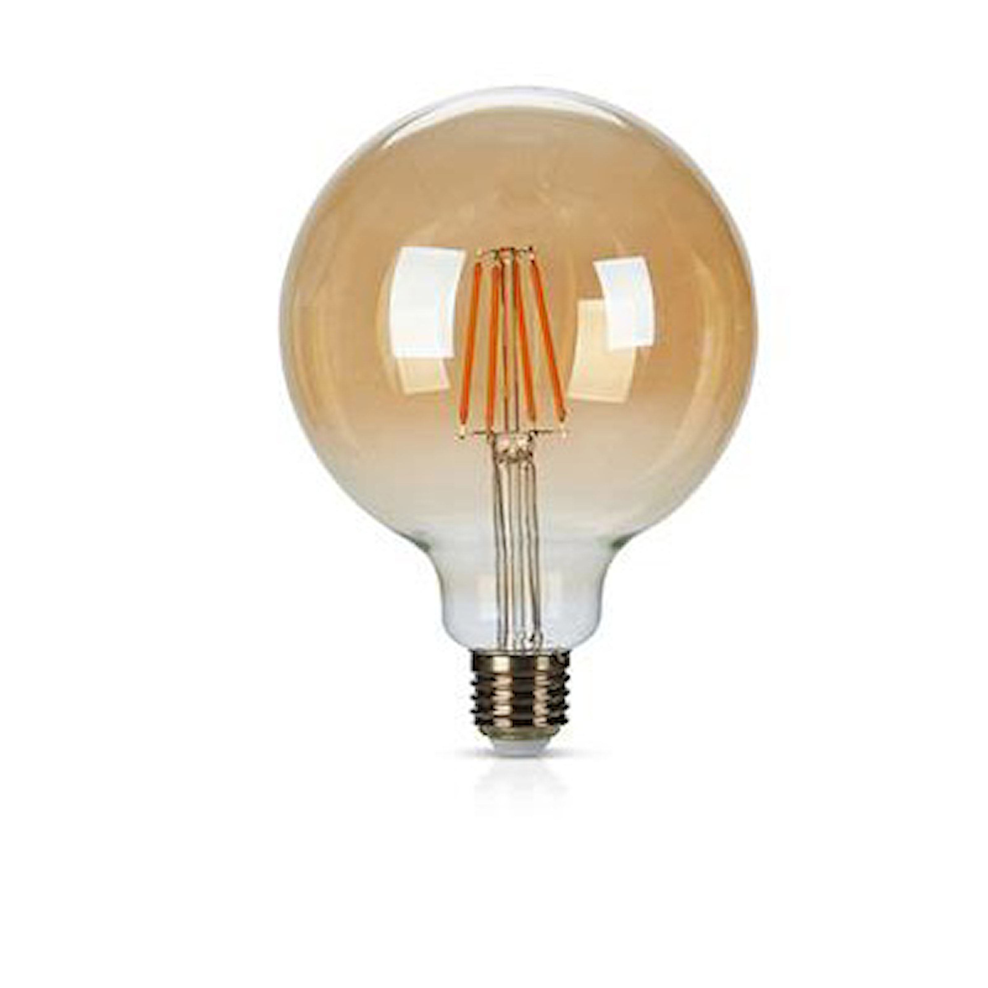 Transparent, Dimmable Bulb, Glödlampa, 1-pack, transparent, ,