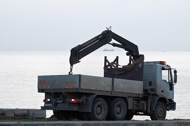 Nettundervisning i Lastebilkran hos Kompetansebedriften