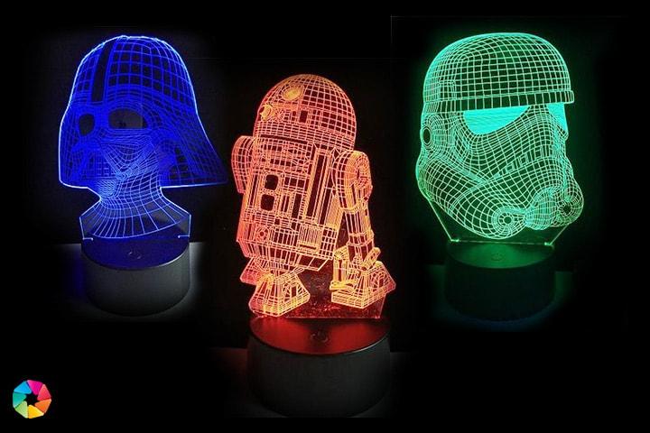 Cool Star Wars-lampa