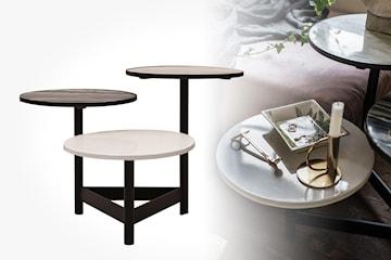 ByOn Table Alternate sidobord i marmor