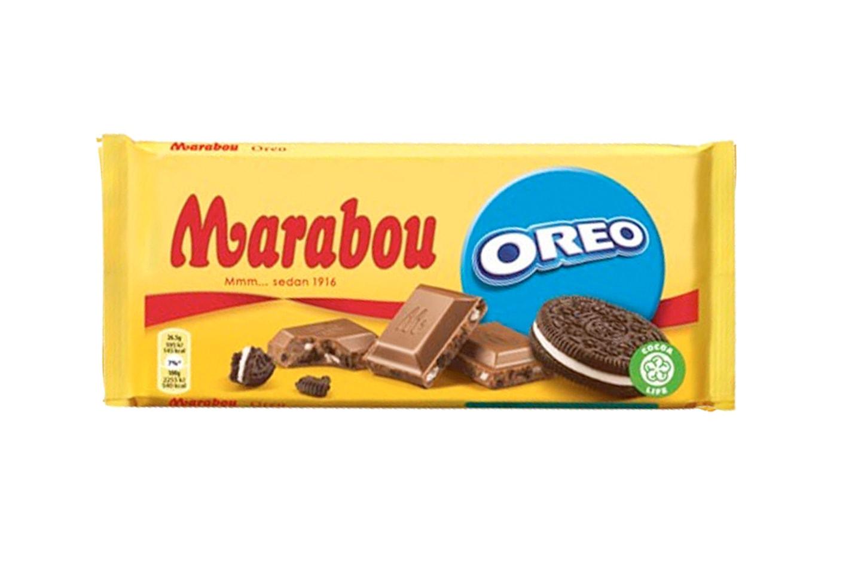 Ti store sjokoladeplater fra Marabou