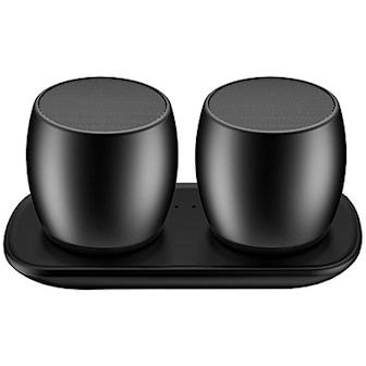 Svart, Mini Surround Sound Bluetooth Speakers, , ,