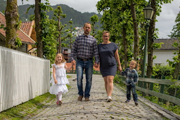Barne og familie fotografering hos Haugeseng Foto i Bergen