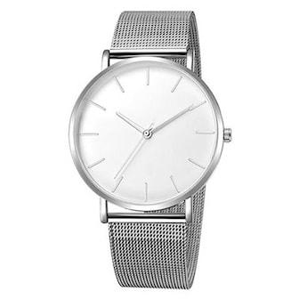 Sølv/Hvit, Wrist Watch for Men, Herreklokke, ,