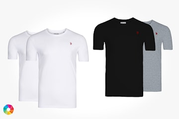 US Polo t-shirt, 2-pack