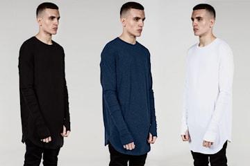 Oversize långärmad tröja