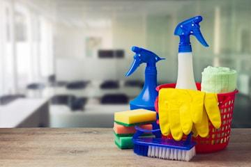 Städhjälp för hem eller kontor