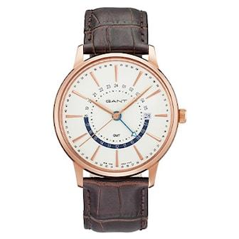 GT026002, GT026002, Urtavla (Ø): 42.5 mm, Armband: Läder,