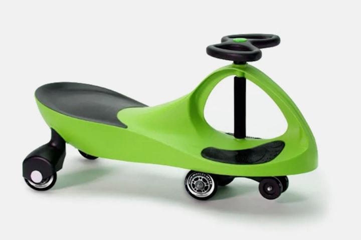 WiggleKart Lime Green lekebil