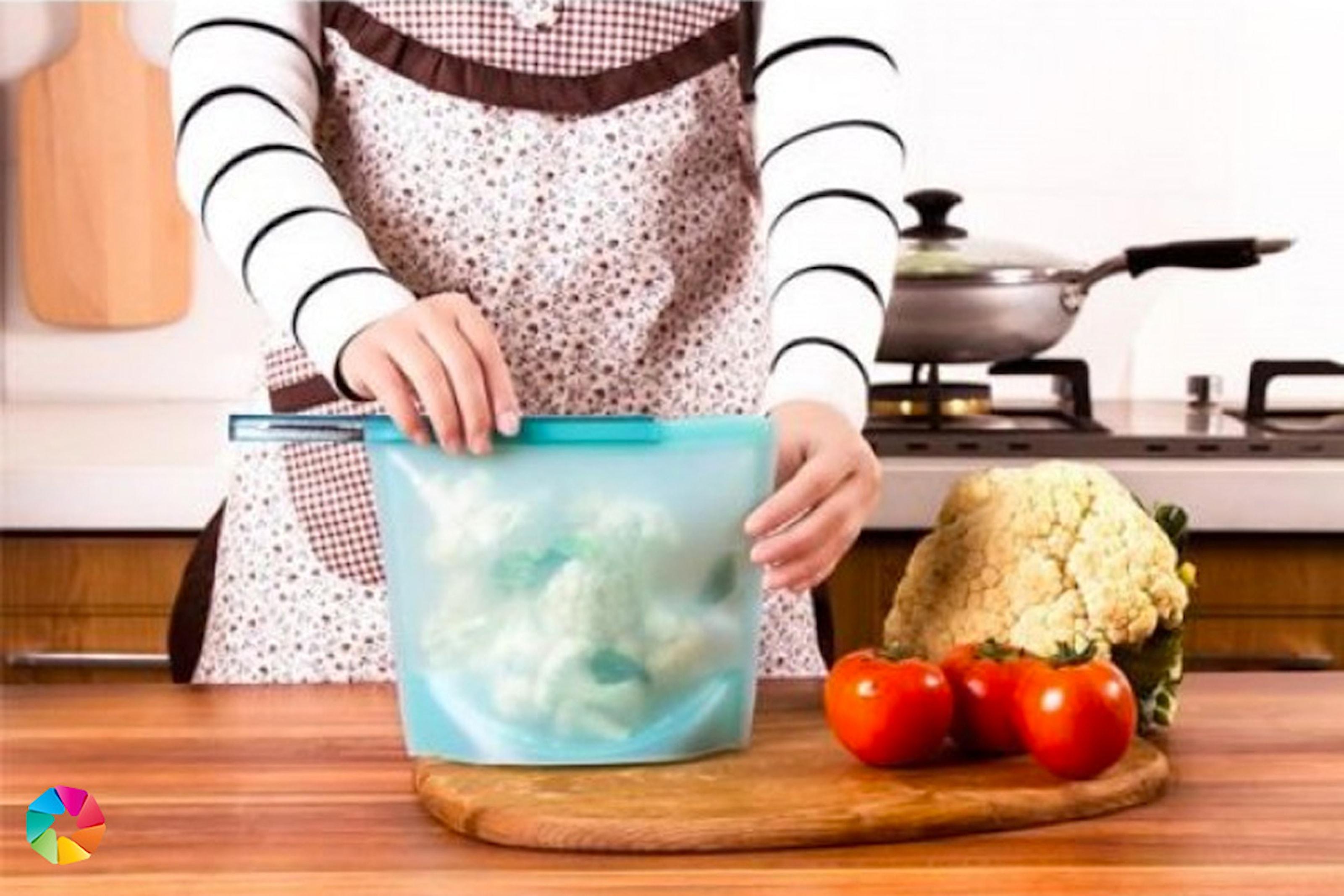 Silikonpåse för livsmedel