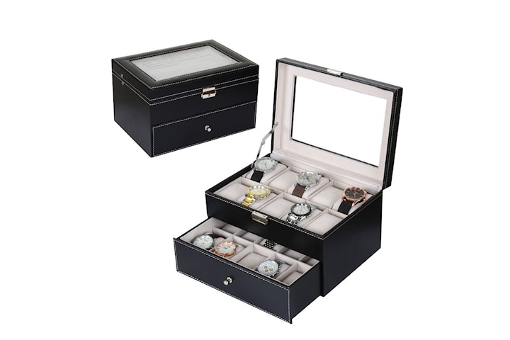 Premium Watch Box - 20 Watch Slots