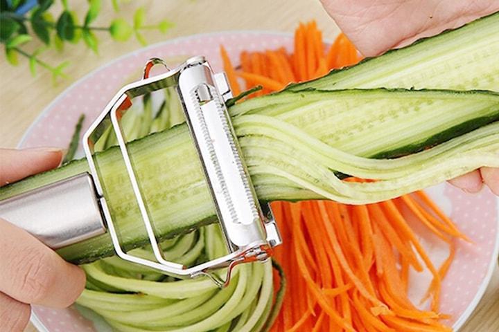 Multifunktionellt grönsaksverktyg