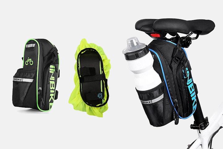 Cykelväska med flaskhållare