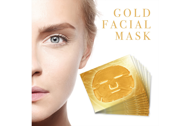 Gold Collagen Gel Ansiktsmask 10- eller 20-pack
