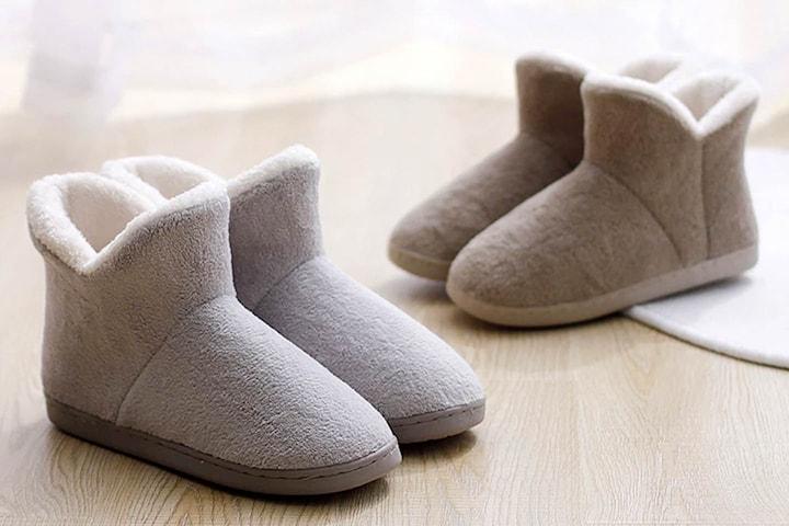 Varme innendørs boots