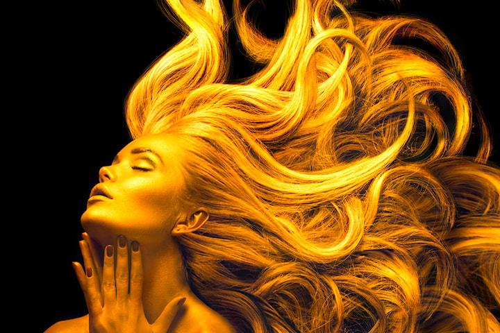 Inpackning, tvätt och styling av ditt hår