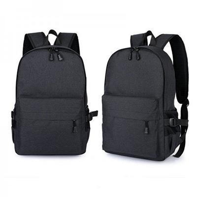 Svart, Unisex Anti-Theft Laptop Backpack, Tyverisikker ryggsekk, ,  (1 av 1)