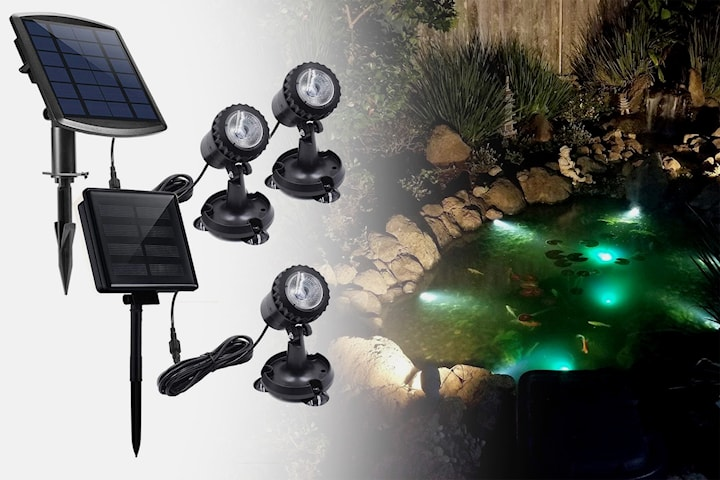 LED-lys som kan brukes under vann
