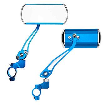 Blå, Rearview bike mirror, Sidospegel för cykel 2-pack, ,