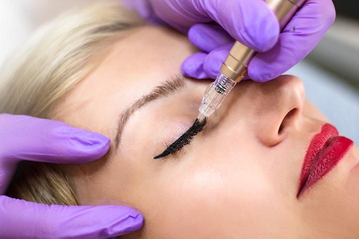Permanent eyeliner hos Permanent Makeup Senter