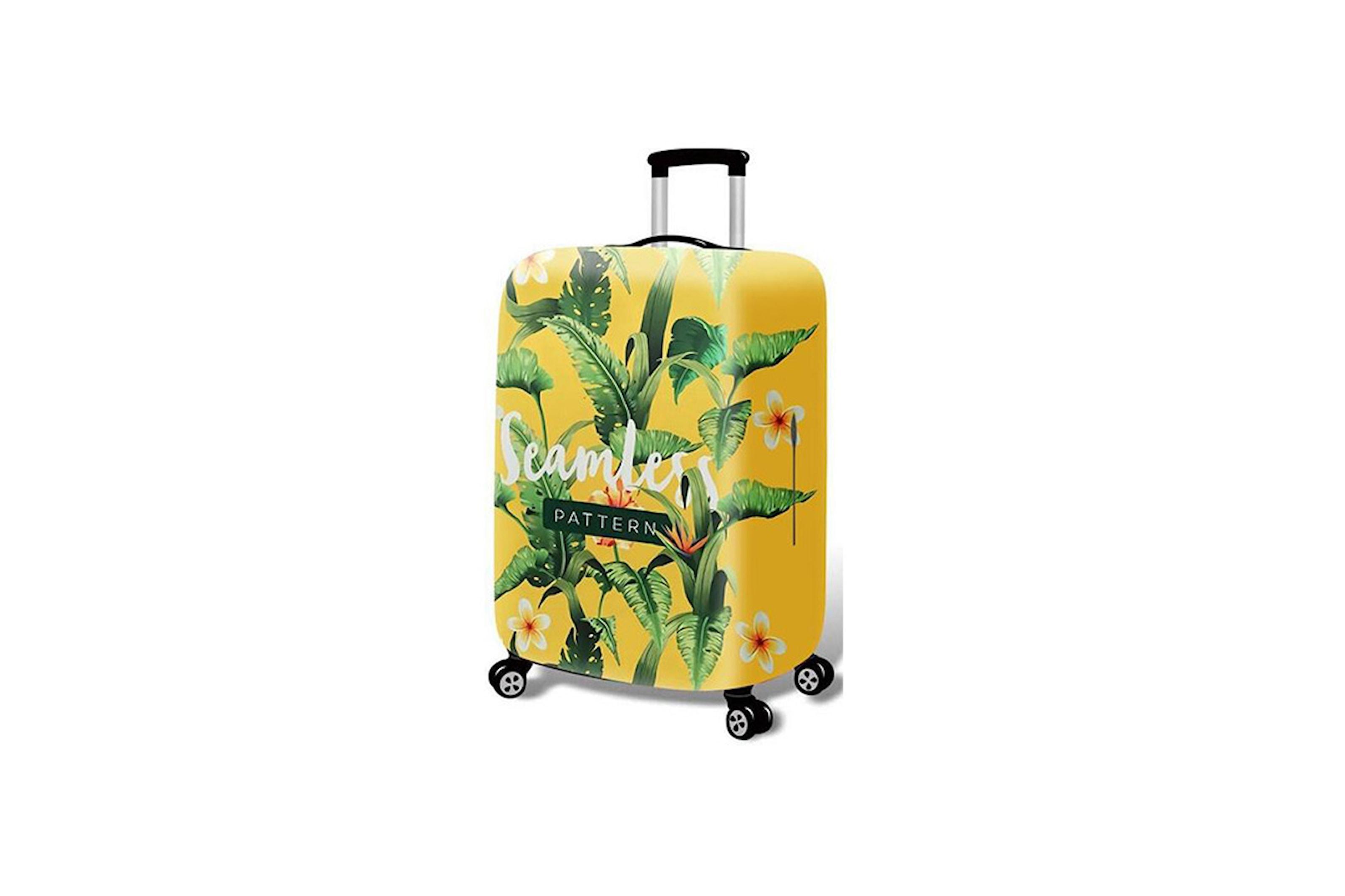 Vattentätt överdrag till resväskan