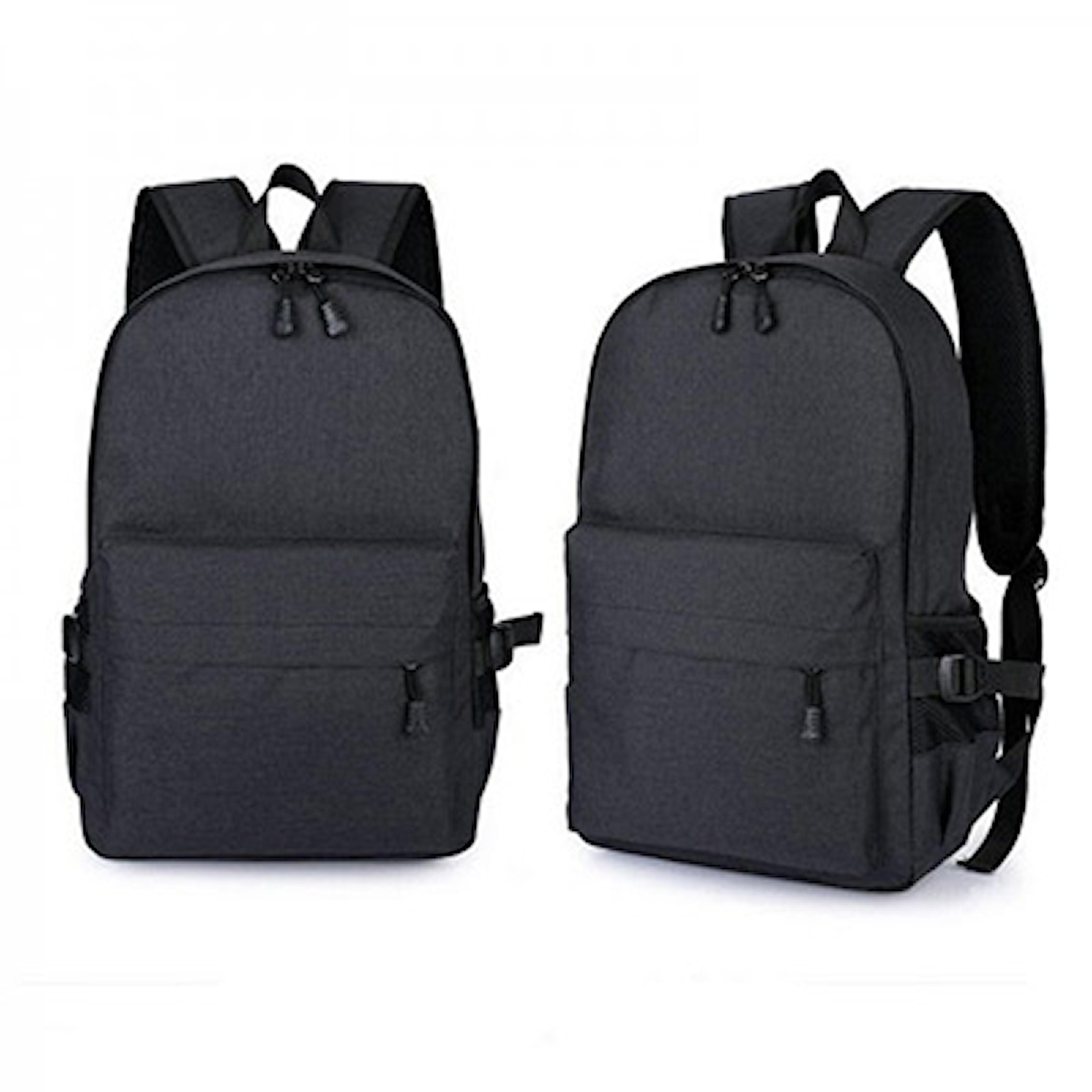 Svart, Unisex Anti-Theft Laptop Backpack, Tyverisikker ryggsekk, ,