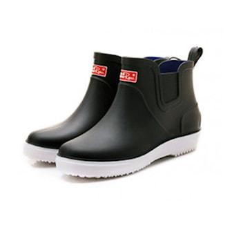 Svart, 40, Ankle Rain Boots, Ankelstøvler til menn, ,