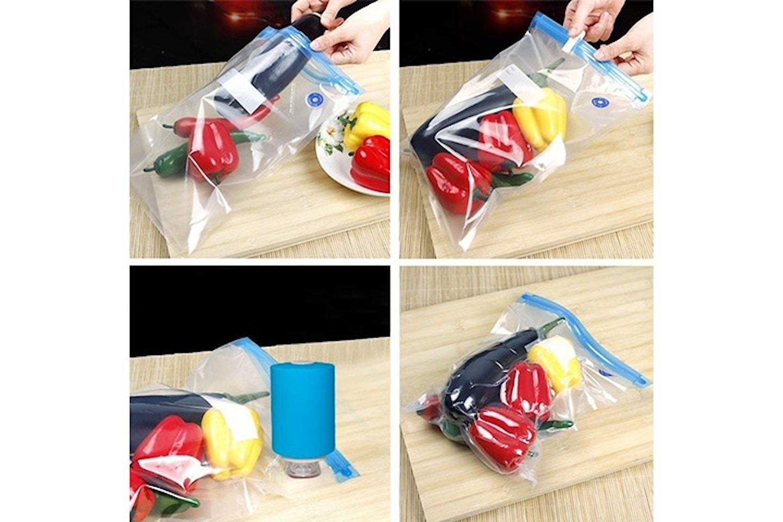 Vakuumförpackare mini och 5-pack påsar