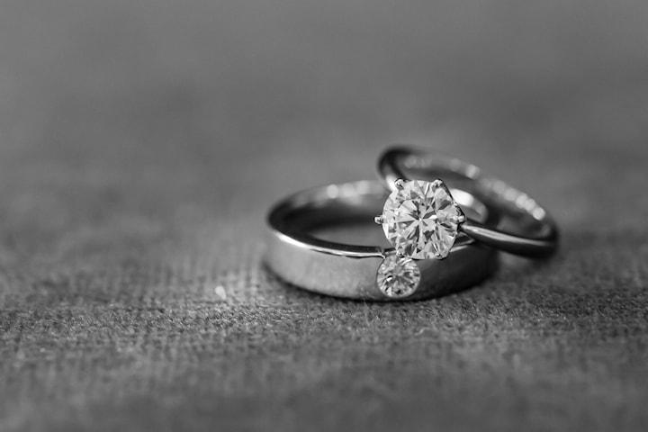 Polering eller rodiering av ringar