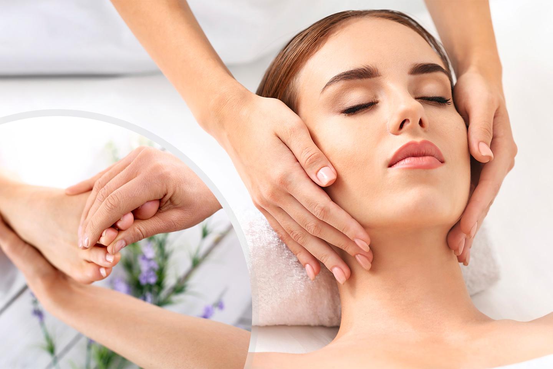 Lyxig ansiktsbehandling inkl. fotmassage, 90 min (1 av 1)