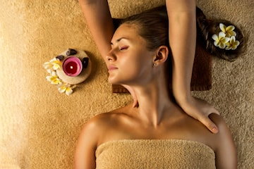 Djupgående massage och aroma stressbehandling
