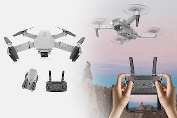 E88 Drone 4K HD vidvinkel kameradrone