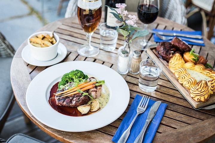 3-rätters middag på Lilla London på Avenyn