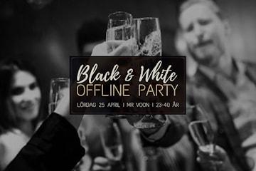 Black & White Offline Party