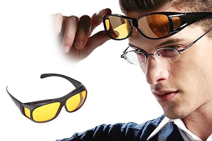 Briller med speil glass