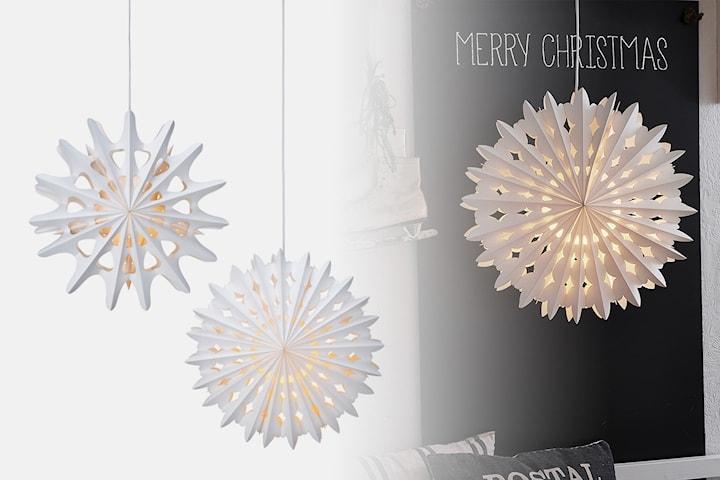 Markslöjd julstjärnor i papp