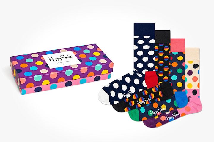 Happy Socks strumpor, 4 par