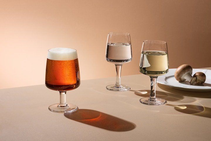 Kosta Boda Bruk glas på fot 4-pack