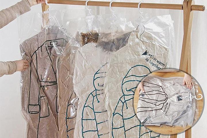 Vakuumpose for klær
