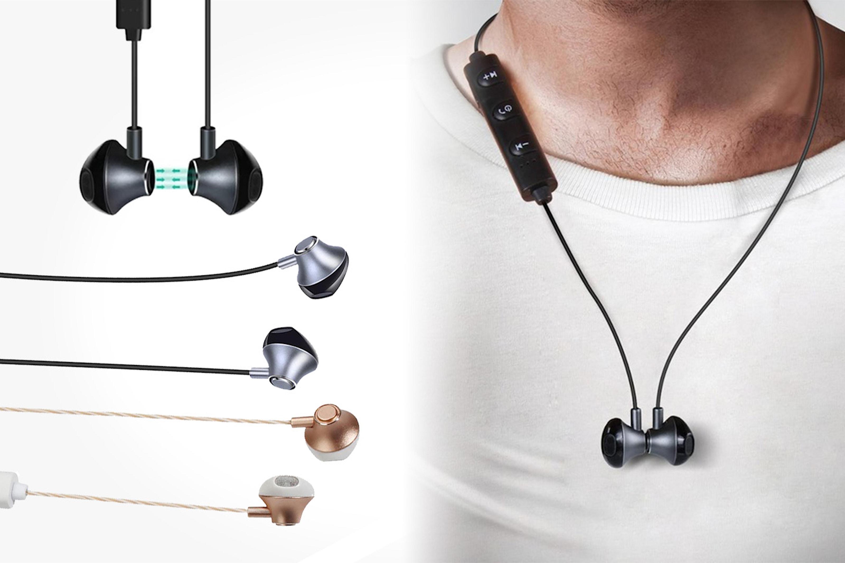 Trådlösa Bluetooth-hörlurar