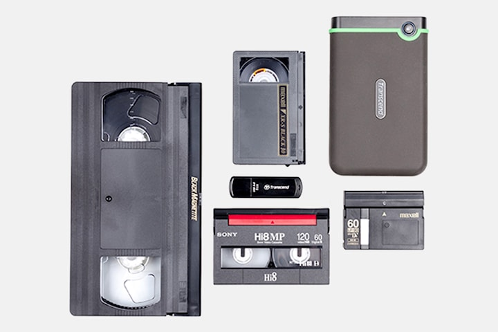 Professionell digitalisering av videoband