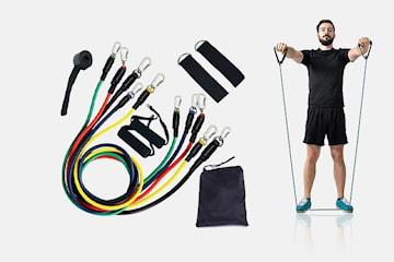 Träningsband 11-pack