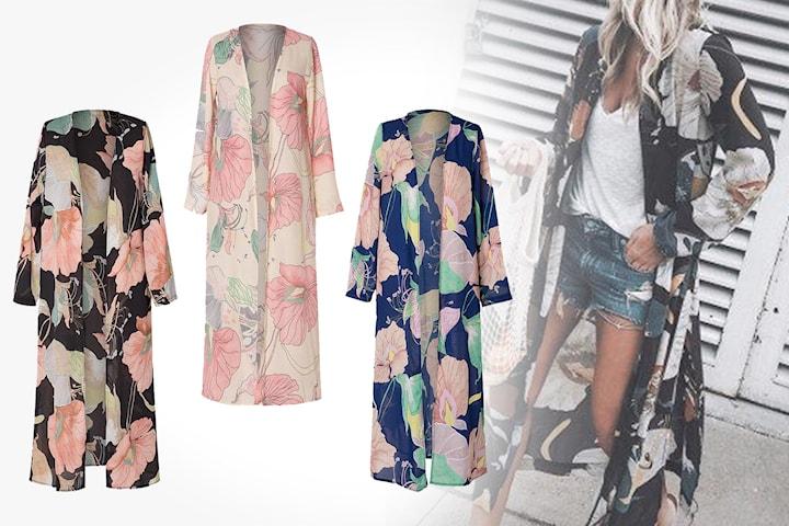 Blomstrete kimono