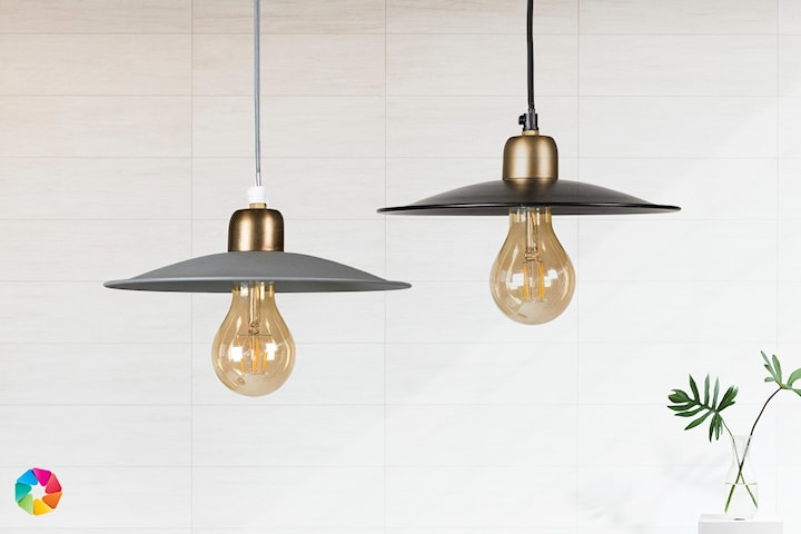 ByOn Erice taklampa i retro-design