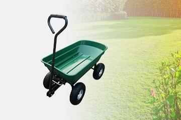 Herzberg transportvagn för trädgårdsarbete