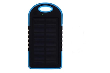 Powerbank 5000 mAh - vattentålig - blå