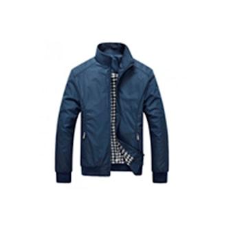 Blå, M, Harrington spring jacket for men, Harrington-jakke til herre, ,
